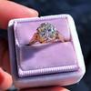 2.65ct Antique Cushion Cut Diamond Solitaire GIA K SI2 12