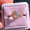 2.65ct Antique Cushion Cut Diamond Solitaire GIA K SI2 8