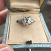 2.73ct Old European Cut Diamond Diamond Ring, AGS M VS2 8
