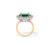 2.85ct Colombian Emerald and Diamond Spray Ring 2