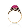 2.86ct Victorian Burmese Ruby Ring (No heat, with AGL cert) 2