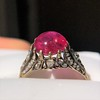 2.86ct Victorian Burmese Ruby Ring (No heat, with AGL cert) 4