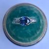 2.90ct Antique Sapphire Solitaire 19