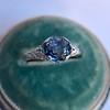 2.90ct Antique Sapphire Solitaire 32