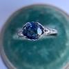 2.90ct Antique Sapphire Solitaire 17