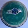 2.90ct Antique Sapphire Solitaire 18