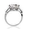 2.91ct Old European Cut Diamond Art Deco Ring GIA L VS 3