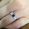 .40ctw 3-Stone Sapphire and Diamond Band by Relais 18