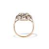 3.45ctw Antique Rose Cut Cluster Ring 3