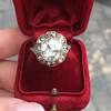 3.45ctw Antique Rose Cut Cluster Ring 6