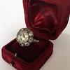 3.45ctw Antique Rose Cut Cluster Ring 10