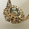 3.45ctw Antique Rose Cut Cluster Ring 5