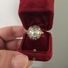 3.45ctw Antique Rose Cut Cluster Ring 20