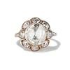 3.45ctw Antique Rose Cut Cluster Ring 0
