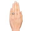3.45ctw Antique Rose Cut Cluster Ring 2