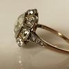 3.45ctw Antique Rose Cut Cluster Ring 15