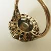 3.45ctw Antique Rose Cut Cluster Ring 29