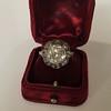3.45ctw Antique Rose Cut Cluster Ring 8