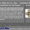 3.25ctw Victorian Old Mine Cut Cross Motif Cluster Ring 9