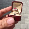 3.27ctw Burma No-heat Ruby Cluster Ring, GIA cert 9