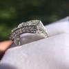 3.46ctw Edwardian 3-Stone Old European Cut Diamond Ring 13