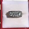 3.46ctw Edwardian 3-Stone Old European Cut Diamond Ring 17
