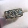 3.46ctw Edwardian 3-Stone Old European Cut Diamond Ring 9