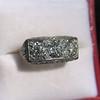 3.46ctw Edwardian 3-Stone Old European Cut Diamond Ring 16