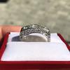 3.46ctw Edwardian 3-Stone Old European Cut Diamond Ring 19
