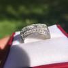 3.46ctw Edwardian 3-Stone Old European Cut Diamond Ring 20