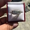 3.46ctw Edwardian 3-Stone Old European Cut Diamond Ring 1