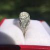 3.46ctw Edwardian 3-Stone Old European Cut Diamond Ring 15