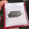 3.46ctw Edwardian 3-Stone Old European Cut Diamond Ring 0
