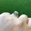 3.45ct Edwardian Old European Cut Diamond Bezel Ring 11