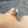 3.45ct Edwardian Old European Cut Diamond Bezel Ring 6