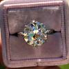 3.83ct Old European Cut Diamond Solitaire GIA K SI1 12