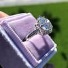 3.83ct Old European Cut Diamond Solitaire GIA K SI1 3