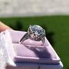 3.83ct Old European Cut Diamond Solitaire GIA K SI1 1