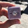 3.83ct Old European Cut Diamond Solitaire GIA K SI1 8