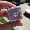 3.83ct Old European Cut Diamond Solitaire GIA K SI1 9