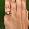 .40ct Old European Cut Antique Gypsy Ring 18