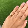 .40ct Old European Cut Antique Gypsy Ring 15