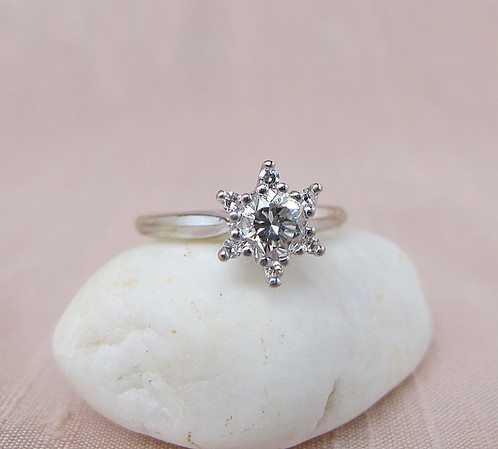 .40ct Round Brilliant Star Cluster Ring