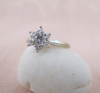 .40ct Round Brilliant Star Cluster Ring RBS