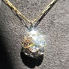 4.25ctw Antique Pear Shaped Diamond Cluster Pendant/Ring GIA G SI1 19