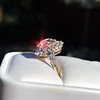 4.37ctw Antique Cushion Cut Cluster Ring 30