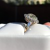 4.37ctw Antique Cushion Cut Cluster Ring 26