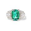 4.40ct (est) Vintage Tourmaline Dinner Ring 0