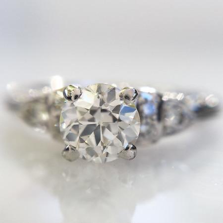 .44ct Old European Cut Diamond Van Craeynest Solitaire