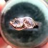 .45ctw Antique Rose Cut Diamond Toi et Moi Ring 16